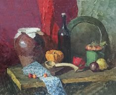 Painting Still Life, Still Life Art, Art Projects, Composition, Abstract Art, Sketches, Ceramics, Landscape, Drawings