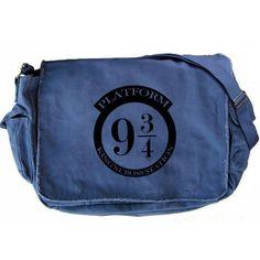 9 3/4 Platform Large Messenger Bag Harry Potter