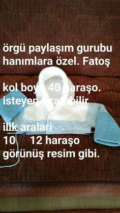 This Pin was discovered by fstThis post was discovered by hacer tünaydın. Discover (and save! Knitting For Kids, Baby Knitting Patterns, Baby Patterns, Crochet Patterns, Crochet Baby, Knit Crochet, Makeup Wipes, Best Beauty Tips, Stress Relief