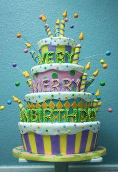 A Very Merry Un-Birthday! Cake