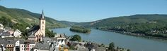 the Rhine in Germany - Imagine cruising through Germany with a view of all the historical castles right out your window!
