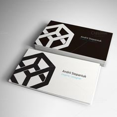 Cube Logo Template by Blacklight on Creative Market