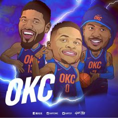Will Oklahoma City's Big Three stay together? Funny Basketball Memes, Basketball Pictures, Football Memes, Sports Basketball, Sports Pictures, Sports Art, Basketball Players, Basketball Videos, Sports Images