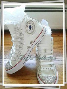 4547624083b4 Wedding Converse Pearl Converse Bling Converse Bridal