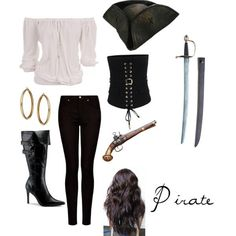 DIY Halloween Costumes: Pirate... - http://halloweencostumesidea.info/diy-halloween-costumes-pirate/