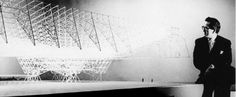 Konrad Wachsmann - space frame hangar system for the United States Air Force, 1949 -