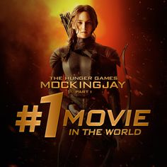 #Mockingjay Part 1 is the #1 movie in the world two weeks in a row!