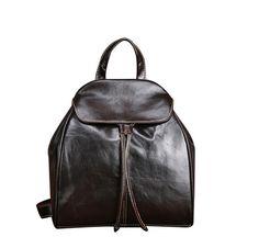 New Genuine Leather Women Backpacks Casual Travel Rucksack Vintage School Bags for Ladies Small Backpack Mujer Mochila Small Backpack, Backpack Bags, Travel Backpack, Backpack 2017, Mini Backpack, Travel Bags, Fashion Backpack, Mode Vintage, Vintage Bags