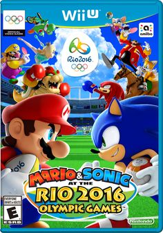 Mario and Sonic at the 2016 Rio Olympic Games (Nintendo), Wii U