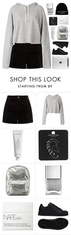 """~i'm your biggest fan"" by emmas-fashion-diary ❤ liked on Polyvore featuring Faith Connexion, Byredo, Topshop, Pantone, Nails Inc., NARS Cosmetics and adidas"