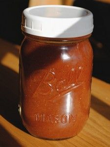 ZIPPY BARBECUE SAUCE 1 sm onion minced 8oz tomato sauce 1/4c red wine vinegar 1/4 c Worcestershire sauce 2tsp paprika 2tsp chili powder 1tsp white pepper 1/2 tsp cinnamon 1/8tsp cloves. Mix all together. Add 2c water. Bring to boil, reduce heat and simmer, uncovered, until thickened, about 20 min.  Cool 30 min.