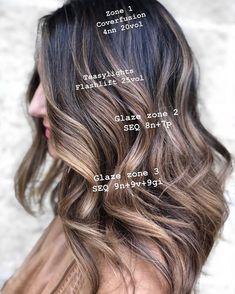 popular brunette balayage hair color ideas 10 ~ my.me popular brunette balayage hair color ideas 10 ~ my. Redken Hair Color, Hair Color Balayage, Bayalage, Fall Balayage, Reverse Balayage, Ombre Hair, Hair Color Formulas, Redken Color Formulas, Redken Hair Products