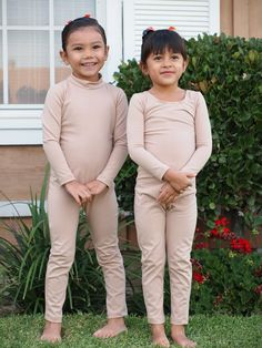 UNITARD /Child Scoop Neck Long Sleeve by LittleDivas2 on Etsy, available in brown, 29
