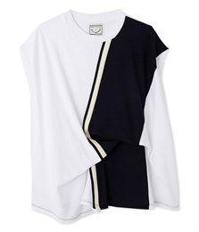 T-shirt femme sans manches Petit Bateau x Annelie Schubert blanc Ecume - Petit Bateau