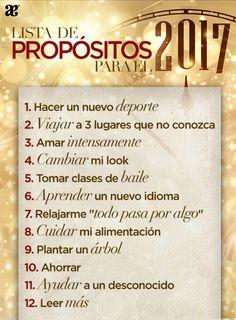 Nuevo año, nuevos propositos. #NewYearsEve #Life #Love #Propositos #2017