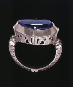 13th century engraved openwork ring http://amzn.to/2t4YCQq
