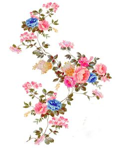 Hd Flowers, Birth Flowers, Water Flowers, Bunch Of Flowers, Botanical Flowers, Draw Flowers, Textile Prints, Floral Prints, Textile Design