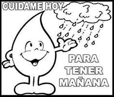 tareitas: CUIDADO DEL AGUA Water Day, Water Cycle, School Notes, Save Water, Teaching Materials, Social Science, Tumblr Funny, Teacher Resources, Diy And Crafts