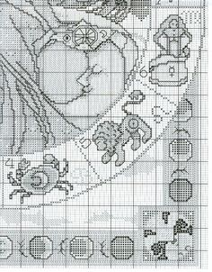 Cross stitch patterns (2nd part) (page 42) | Learning manuals is easy.