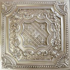Faux tin ceiling tile $8.99~$9.99