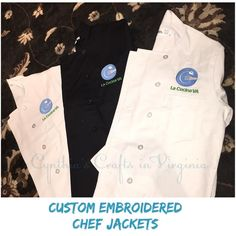 Many thanks to @lacocinava for trusting us on customizing their chef jackets.  @lacocinava is a non-profit organization that generates job opportunities for unemployed hispanics by providing job training in the hospitality and food industry...check them out!  Thanks again!  http://lacocinava.org/  #lacocinava #embroidery#cynthiascraftsinvirginia #smallbusiness #nonprofit #customorder #custommade #chefjackets #catering #aprons #chef #cooking #hospitality #food #professionalchef…