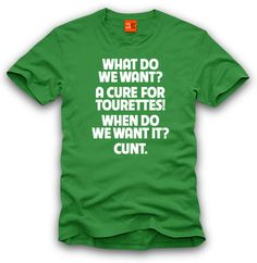 I know a lot of people find this word offensive, but I think this shirt is HILARIOUS. looove it.