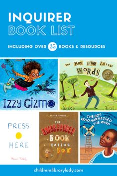 Explore this inquirer book list to discover picture books and resources to inspire kids interest & enthusiasm of the world and their own learning. Reading Resources, Book Activities, Preschool Books, Classroom Resources, Ib Learner Profile, Creative Thinking Skills, Growth Mindset Activities, We Are Teachers, Research Skills