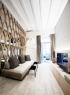 Archiplanstudio Designs a Three-Level Apartment in Milan