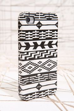 Geo Graphic iPhone 4 Case - Urban Outfitters