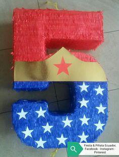 Facebook: Fiesta & Piñata Ecuador.https://www.facebook.com/FiestayPinataEcuador/  Instagram y Pinterest#Quito #piñatapersonalizada #5 #mujermaravilla  #fiestaypiñataecuador