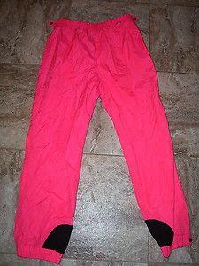 aaa51435905b0a Columbia RARE Vintage Womens Large Snow Ski Pants Hot Pink 80 s or 90 s Era    eBay