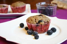 ***10-2014: made these more than once. Just subbed brown sugar for coconut palm sugar. The kids kind of liked them when i made them for ourselves, they are a bit chewy though. I didn't mind them. The hubs liked his. A nice change. **** Easy Gluten Free Vegan Blueberry Muffins