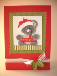 Stampin' Up! - Christmas punch art