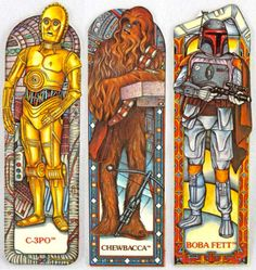 Vintage Star Wars Bookmarks