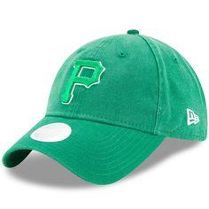 c1910f2250d21 Women s Pittsburgh Pirates New Era Kelly Green St. Patrick s Day Preferred  Pick 9TWENTY Adjustable Hat
