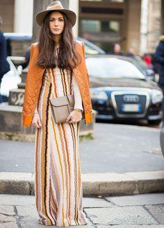 diletta-bonaiuti-look-maxi-dress-chapeu