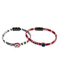 SET of 2 Friendship Handmade Ethnic Bracelets by StudioBoneli