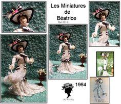 """""""My fair Lady""""by """"Les Miniatures de Béatrice""""/ Sold"""