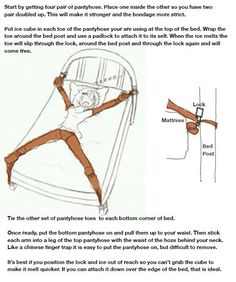 Men self bondage guide