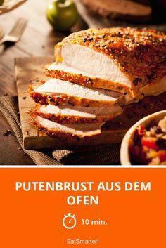 Putenbrust aus dem Ofen - smarter - Zeit: 10 Min. | eatsmarter.de