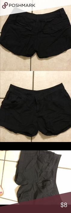Black slouch shorts Black baggy shorts that are extremely light weight. Forever 21 Shorts Jean Shorts