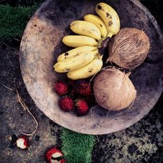 Playa Negra frutas tropicales