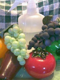 homemade vegetable wash/preserver produce wash