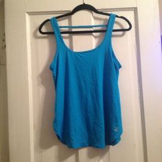 VSX TANK Super loose and comfy work out tank from VSX get it while it's here, and get sexy for the summer. I am willing to negotiate on the price just give me a reasonable offer. Victoria's Secret Tops Muscle Tees