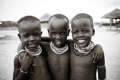 Drie beste vrienden in Ethiopië. #Afrika #Ethiopië #Fair2