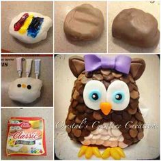 Crystal's Creative Creations: How to make brown fondant.... Without brown food c...