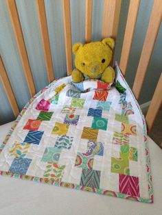 PDF Mini Building Blocks Quilt Pattern Mini Charm Pack Pattern