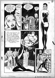 lily renee(just in case you thought there were no female artists in golden age comics)