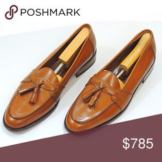 HP E.T Wright Loafers 🇮🇹Made in Italy🇮🇹 Made in Italy! Rare, one of a kind Loafers.  ET Wright. An American heritage of fine, handcrafted leather footwear dating back to 1876 has been out of business for years.  This dress Loafer is calf skin and is a size 10S or narrow size.  Small black spot on welt of right shoe pictured and light scratches on inside of heel E.T. Wright Shoes Loafers & Slip-Ons