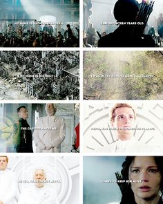 My name is Katniss Everdeen. Why am I not dead? I should be dead. It would be best for everyone if I was dead….